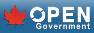 The Canadian Government's Open Government logo